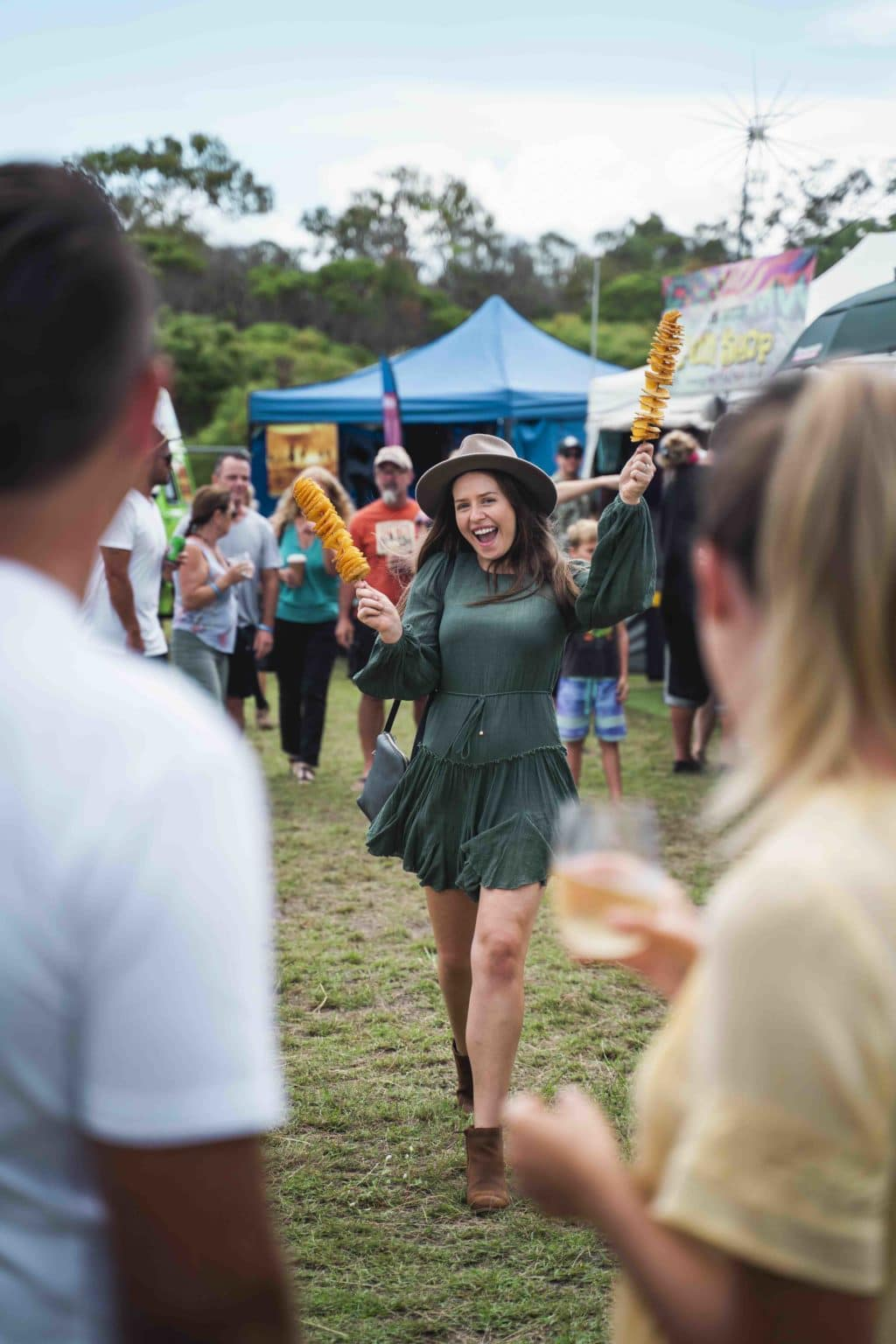 Tourism Queensland Agnus Water Festival working with AOV Films